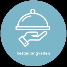 Ikon för restaurangvatten